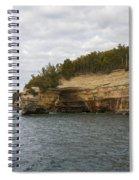 Lake Superior Pictured Rocks 50 Spiral Notebook