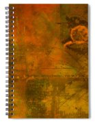 Landscape Of Mars Spiral Notebook