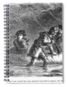 Last Of The Mohicans, 1872 Spiral Notebook