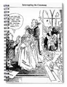 League Of Nations Cartoon Spiral Notebook