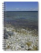 Leelanau Michigan Beach Spiral Notebook
