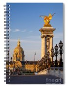 Les Invalides Spiral Notebook