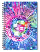 Lighting Effects And Graphic Design Spiral Notebook