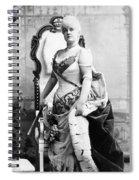 Lillian Russell (1861-1922) Spiral Notebook