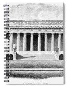 Lincoln Memorial Spiral Notebook