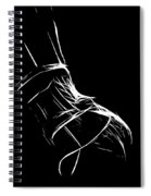 Lingerie Spiral Notebook