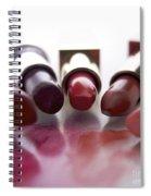 Lipsticks Spiral Notebook