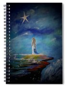Little Wishes By The Sea Spiral Notebook