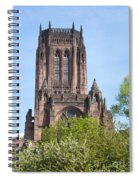 Liverpool Anglican Cathedral Spiral Notebook