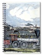 Locomotive Factory, C1855 Spiral Notebook