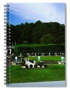 Longwood Gardens Fountain Garden Spiral Notebook