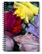 Look Of Romance Spiral Notebook