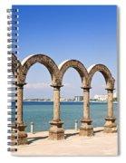 Los Arcos Amphitheater In Puerto Vallarta Spiral Notebook