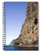 Los Gigantes Cliffs Spiral Notebook