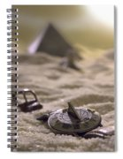 Lost Time Spiral Notebook