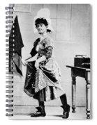 Lotta Crabtree (1847-1924) Spiral Notebook