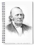 Louis Agassiz (1807-1873) Spiral Notebook
