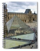 Louvre Museum. Paris Spiral Notebook