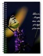 Love Is Spiral Notebook