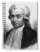 Luigi Galvani, Italian Physician Spiral Notebook