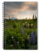 Lupine Sunset Spiral Notebook