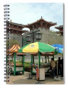 Macau Fisherman's Wharf Spiral Notebook