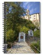Madonna Del Sasso - Locarno Spiral Notebook
