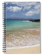 Makena Ocean And Sand Spiral Notebook