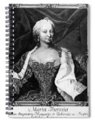 Maria Theresa (1717-1780) Spiral Notebook