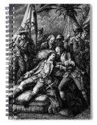 Marquis De Montcalm Spiral Notebook