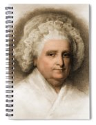 Martha Washington, American Patriot Spiral Notebook