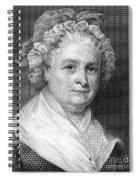 Martha Washington Spiral Notebook