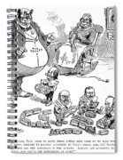 Mckinley Cartoon, 1900 Spiral Notebook