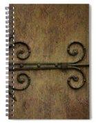 Mediterrarean Spiral Notebook