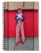Mermaid Parade Collage 2011 Coney Island Spiral Notebook