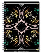 Metallic Flourishes Warp 2 Spiral Notebook