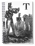 Mexican War: Soldiers Spiral Notebook