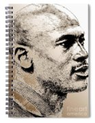 Michael Jordan In 1990 Spiral Notebook