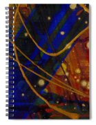 Mickey's Triptych - Cosmos I Spiral Notebook