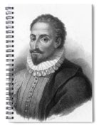 Miguel De Cervantes, Spanish Author Spiral Notebook