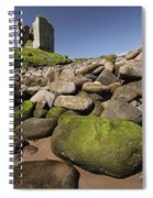 Minard Castle And Rocky Beach Minard Spiral Notebook