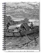 Mississippi: Flatboat Spiral Notebook