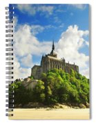 Mont Saint Michel Spiral Notebook