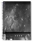 Moon: Ranger 7, 1964 Spiral Notebook