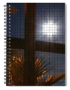 Moon Rising Two Spiral Notebook