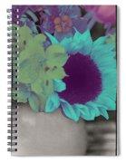 Moonflower Spiral Notebook