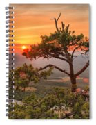 Moore's Knob Sunset Spiral Notebook