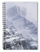 Mt. Chephren, Banff National Park Spiral Notebook