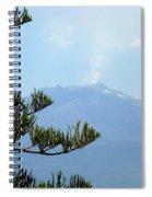 Mt. Etna Spiral Notebook