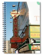 Nathan's Famous At Coney Island  Spiral Notebook
